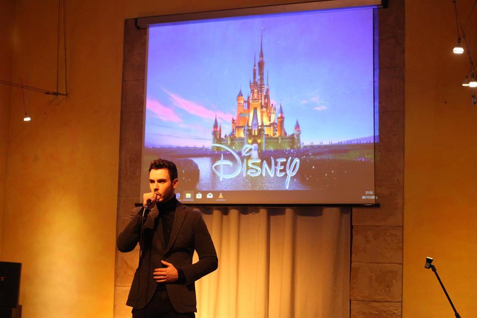Disney estuvo presente en este concierto de canto de los alumnos de la escuela de música renacimiento