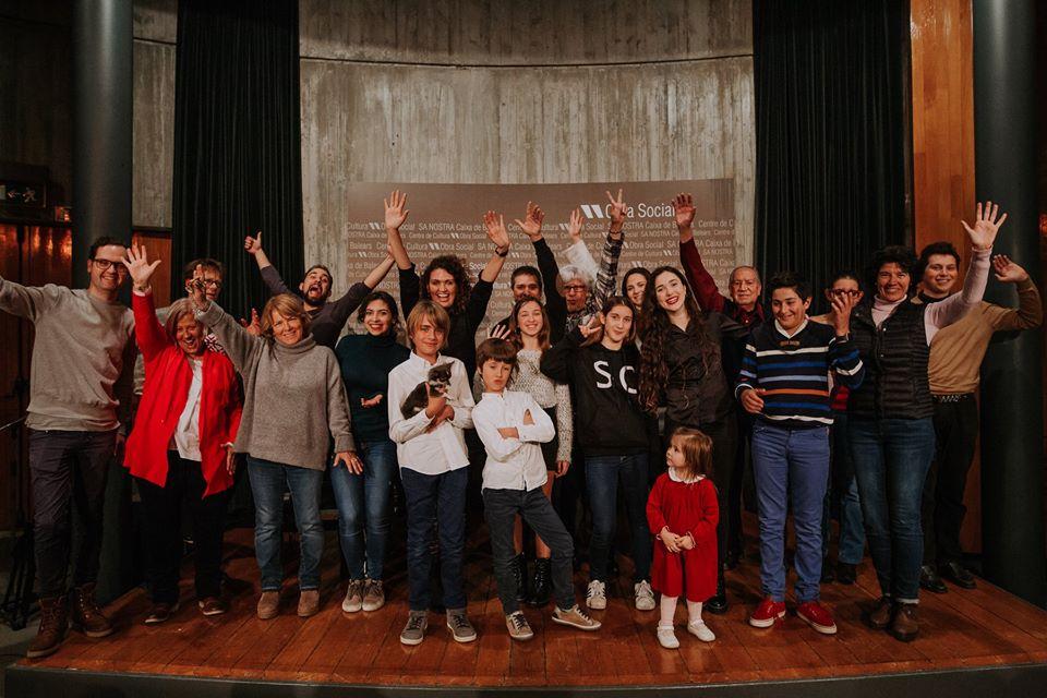 foto de familia de la academia renacimiento