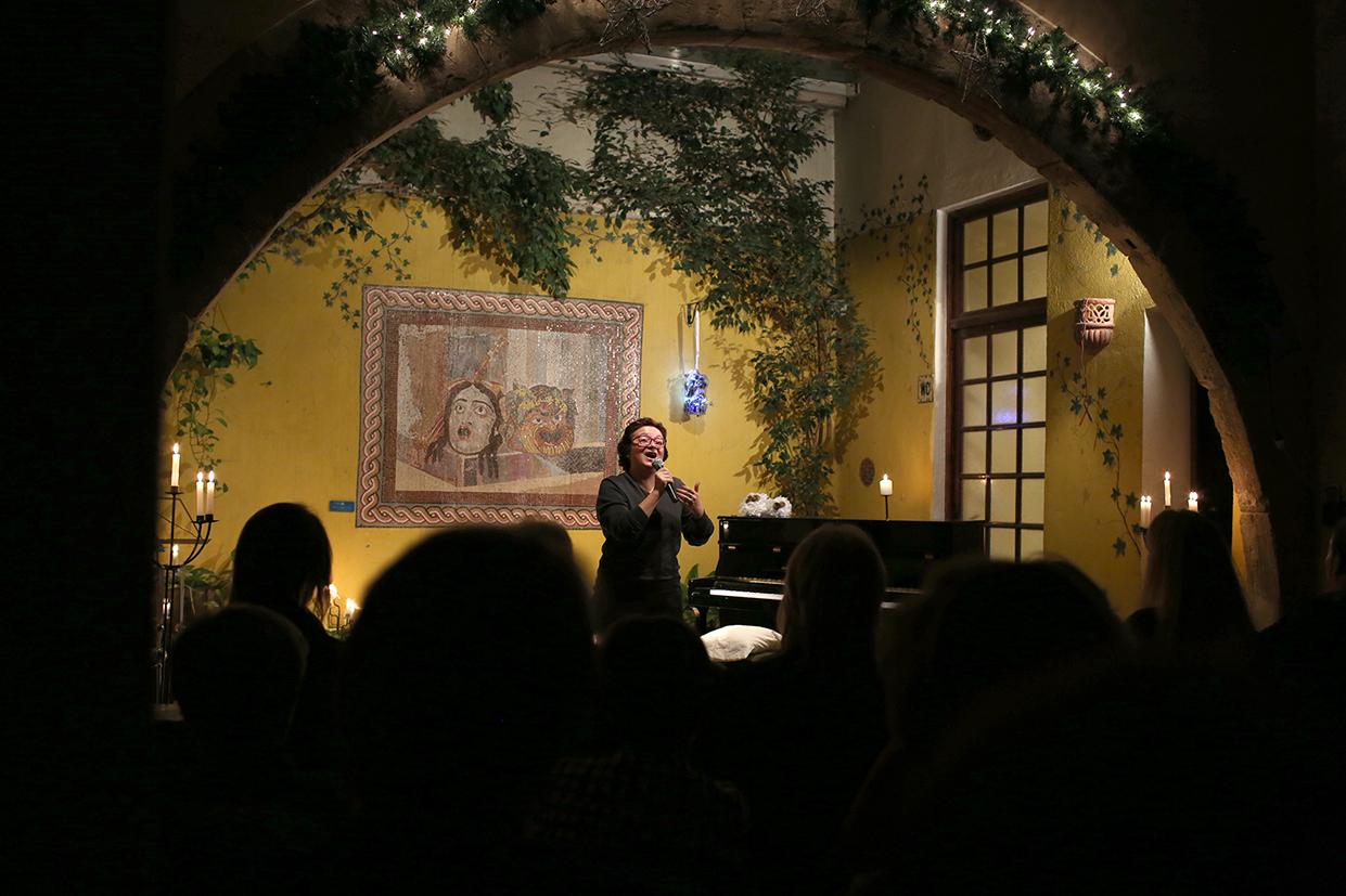 La profesora de canto de la Escuela de Música Renacimiento